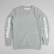 alfiebanks worldwide sweatshirt