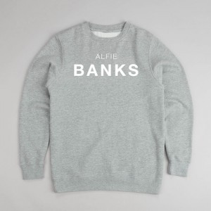 discovery grey sweatshirt